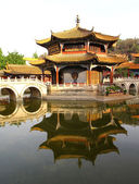 YuanTong Temple in Kunming, Yunnan Province, China. — Stock Photo