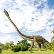 Public parks of statues and dinosaur — Stock Photo #26840993