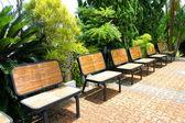 Relax sedia nel parco — Foto Stock
