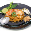 Thai style noodles, local named Pad Thai — Stock fotografie