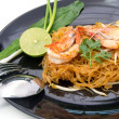 Стоковое фото: Thai style noodles, local named Pad Thai