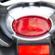 Stock Photo: Motorcycle rear lights