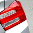 Stock Photo: Back light of automobile