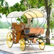 Old horse-drawn carriage — Stock Photo