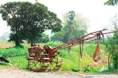 Tilling tractor — Stock Photo