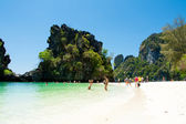 KRABI,THAILAND - March 7: Koh Hong island famous attractions.Tou — Stock Photo