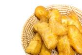 Deep fried dough stick — Stock Photo