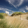 Sand dunes at the dutch coast — Stock Photo #34648577
