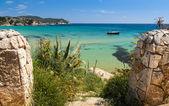 Mediterranean sea landscape — Stock Photo