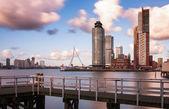 Skyline van Rotterdam — Stock Photo