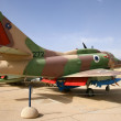 Israeli Air Force A-4 Skyhawk - Stock Photo