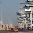 Stock Photo: Container port