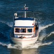Small pleasure yacht — Foto Stock #13427520