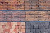 Garden paving blocks — Stock Photo