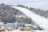 Ski piste — Stock Photo