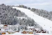 滑雪滑雪道 — 图库照片