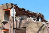 Edifício de desconstrução — Fotografia Stock