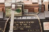 World War II ammo — Stock Photo