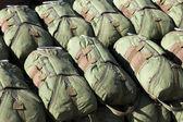 Paracaídas de paracaidista — Foto de Stock