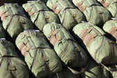 Paracadutista paracadute — Foto Stock