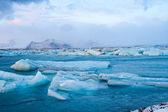 Ledovec islandu — Stock fotografie