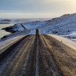 Stock Photo: Road Iceland