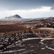 Iceland vulcanic landscape — Stock Photo