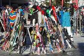 Skiing — Fotografia Stock