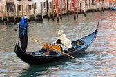 Góndola de venecia — Foto de Stock