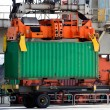 Stock Photo: Crane container