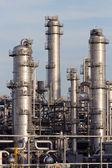 Petrochemische industrieanlagen — Stockfoto