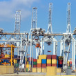 Stock Photo: Container terminal