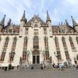 Bruges town hall — Stock Photo