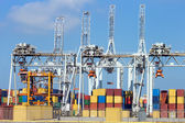 Container terminal — Стоковое фото
