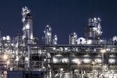 Petrokemiska anläggningar — Stockfoto