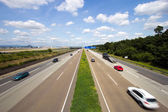 German Autobahn — Stock Photo