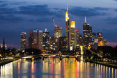 Frankfurt Skyline — Stock Photo