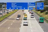 German Autobahn — Stock Photo