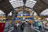 Frankfurt Central Station — Stock Photo