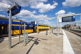 Dutch railway — Stock Photo