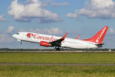 Corendon 737 — Stock Photo