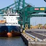 Antwerp harbor — Stock Photo #30234653