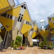 Stock Photo: Rotterdam cube houses