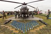 AH-64 Apache — Zdjęcie stockowe