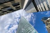 Frankfurt city — Stock Photo