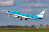 KLM Schiphol — Stock Photo