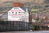 Mural of Springhill westrock massacre — Stock Photo