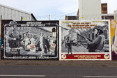 Belfast Murals — Stock Photo