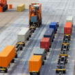 Container terminal — Stock Photo #41765411