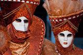 Karnevalové masky — Stock fotografie